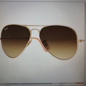 Rat Ban aviator metal sunglasses